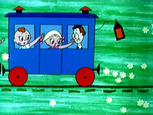 Скачать мультфильм паровозик из ромашково фото 133-713